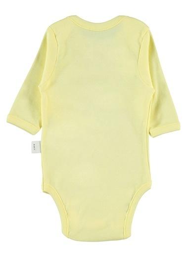 Civil Baby Bebek Çıtçıtlı Badi Sarı Sarı